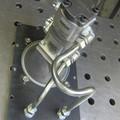 Hydraulik an der Werkstattpresse