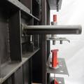 Höhenverstellung des Arbeitstisches bei der Richtpresse für Schlosser