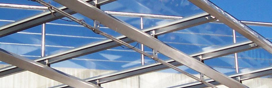PRINZ Metallbau - Dachkonstruktion außen